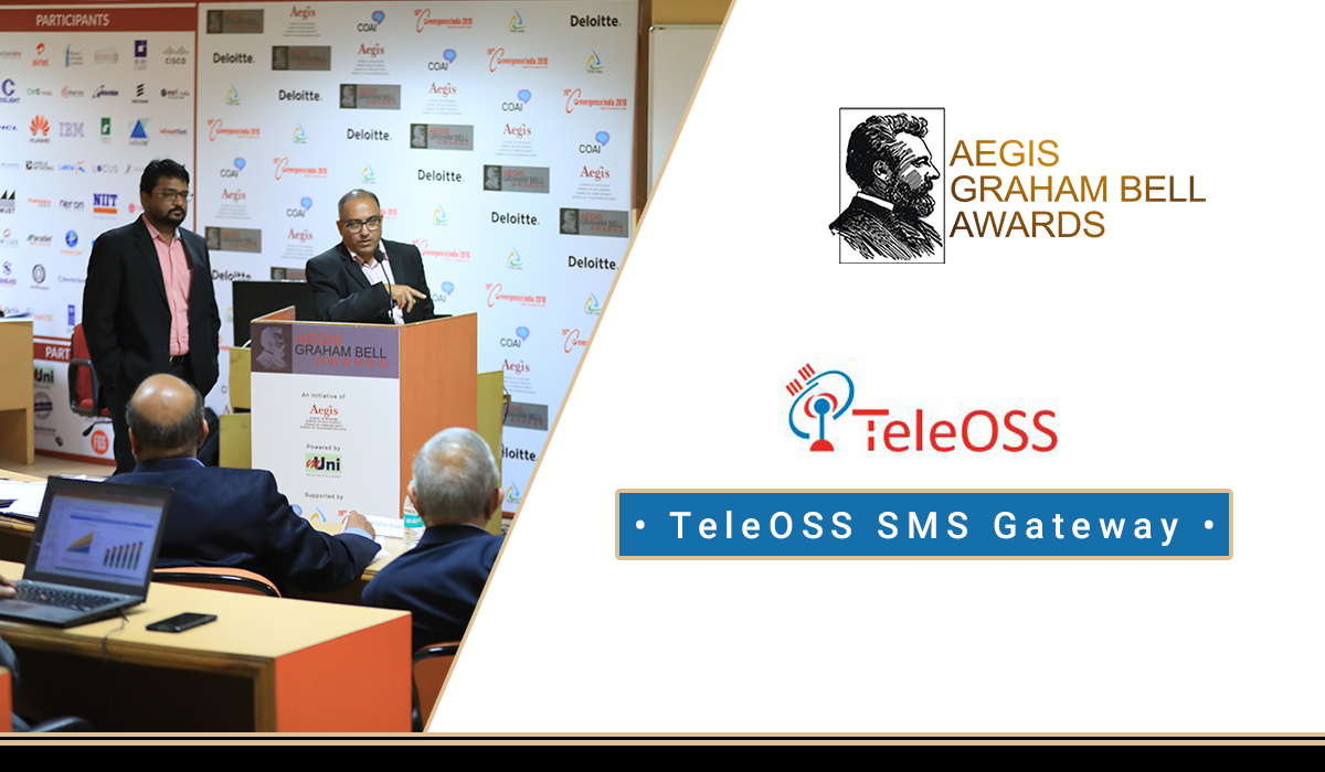 TeleOSS wins 8th Graham Bell Award